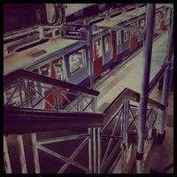 Photo taken at Aldgate London Underground Station by Graham W. on 3/13/2012