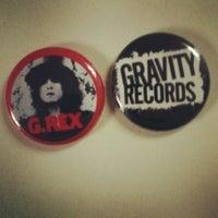Photo taken at Gravity Records by Matt K. on 2/16/2012