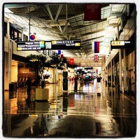 Photo taken at Concourse A by Nawaf A. on 4/7/2012