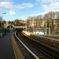 Photo taken at Lewes Railway Station (LWS) by Russ M. on 1/7/2012