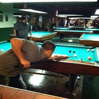 Photo taken at Chicago Billiards Cafe by Benny on 1/22/2012