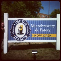 Photo taken at Obed & Isaac's Microbrewery and Eatery by Charles C. on 8/31/2012