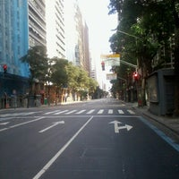 Photo taken at Avenida Rio Branco by Livia V. on 9/7/2012