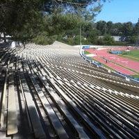 Photo taken at UCLA Drake Track & Field Stadium by UCLA  Athletics on 4/5/2011