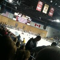 Photo taken at Rushmore Plaza Civic Center Ice Arena by Matt G. on 2/18/2012