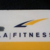 Photo taken at LA Fitness by Ashley M. on 3/25/2011
