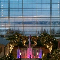 Photo taken at Gaylord National Resort & Convention Center by Chris G. on 2/16/2012