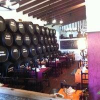 Photo taken at Restaurant Mas Pi by Rafael R. on 3/5/2011