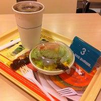 Photo taken at MOS Burger by Jiaxuan H. on 11/2/2011