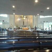 Photo taken at Gereja Katolik Santo Yakobus by Clement W. on 10/30/2011