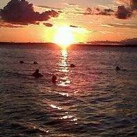 Photo taken at Playa Punta Norte by Flor C. on 2/17/2011