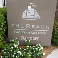 Photo taken at The Reach, A Waldorf Astoria Resort by 🌴David on 9/1/2012