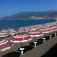 Photo taken at Lido Arcobaleno by Vincenzo D. on 7/7/2012