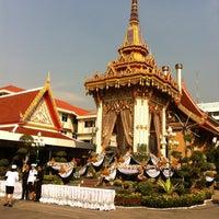 Photo taken at Wat Thep Leela by Aoy P. on 4/9/2012