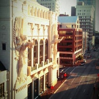 Photo taken at Sundance Square by Cassandra H. on 8/22/2012