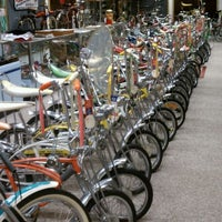 Photo taken at Bicycle Heaven by Sean on 3/21/2012