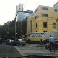 Photo taken at Universidad Mexicana Polanco by Carlos O. on 3/24/2012