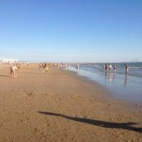 Photo taken at Playa de Valdelagrana by Francisco B. on 7/14/2012