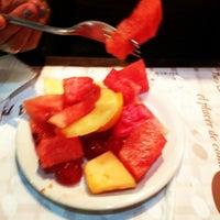 Photo taken at Sal y Brasas Steak House by Frank P. on 9/1/2012