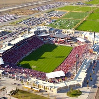 Photo taken at Toyota Stadium by Visit Frisco, Texas on 2/8/2012