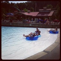 Photo taken at Dollywood's Splash Country by Dollywood on 6/14/2012