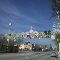 Photo taken at NoHo Sign by Mike G. on 2/22/2012