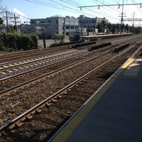 Photo taken at Metro North - East Norwalk Train Station by W. Vincent P. on 6/16/2012