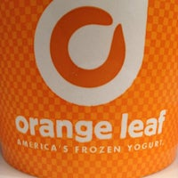 Photo taken at Orange Leaf by Nick B. on 7/1/2012
