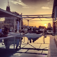 Photo taken at Terraza Room Mate Óscar by Rui D. on 8/11/2012