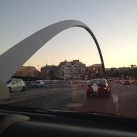 Photo taken at Puente de Ventas by Pam K. on 7/15/2012