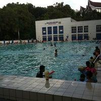 Photo taken at Pusat Akuatik Darul Ehsan (Aquatic Centre) by Ahmad Hafiz W. on 2/20/2011