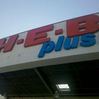 Photo taken at H-E-B plus! by Misty G. on 3/15/2011