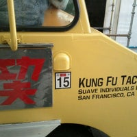 Photo taken at Kung Fu Tacos by Chris C. on 8/23/2011