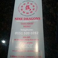 Photo taken at Nine Dragons by ChipsAway O. on 7/13/2012