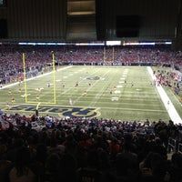 Photo taken at Edward Jones Dome by Brian M. on 12/18/2011