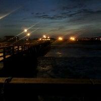 Photo taken at Avon Fishing Pier by Stephen G. on 6/15/2012