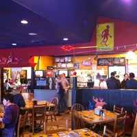 Photo taken at Flaming Amy's Burrito Barn by Nick N. on 2/11/2012