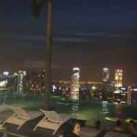 Photo taken at Rooftop Infinity Pool by Christabel C. on 6/2/2012