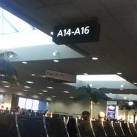 Photo taken at Gate A16 by Fernando C. on 8/23/2012