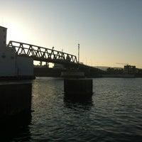 Photo taken at Pont de Bizerte by Ghassen on 8/19/2012