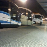 Photo taken at Estación de Autobuses de Donostia/San Sebastián by Angel A. on 11/22/2011