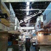 Photo taken at Tsukiji Market by Kaz O. on 12/30/2011