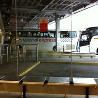 Photo taken at National Express / Eurolines Coach Station by Sean L. on 5/17/2012