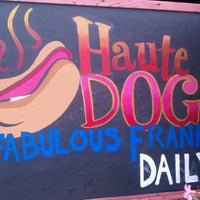 Photo taken at Haute Dog Carte by Spam on 5/18/2011