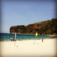 Photo taken at Marine Base Ternate Beach Resort by Rai V. on 4/25/2012