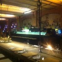 Photo taken at Sage Restaurant & Beach by santi d. on 4/14/2012