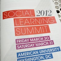 Photo taken at Social Learning Summit 2012 #SLS12 by Carly H. on 3/31/2012