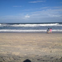 Photo taken at Carolina Beach by Benjamin G. on 5/26/2012