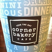Photo taken at Corner Bakery Cafe by Annie C. on 9/3/2011