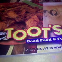 Photo taken at Toot's Good Food & Fun by Michelle L. on 4/15/2011